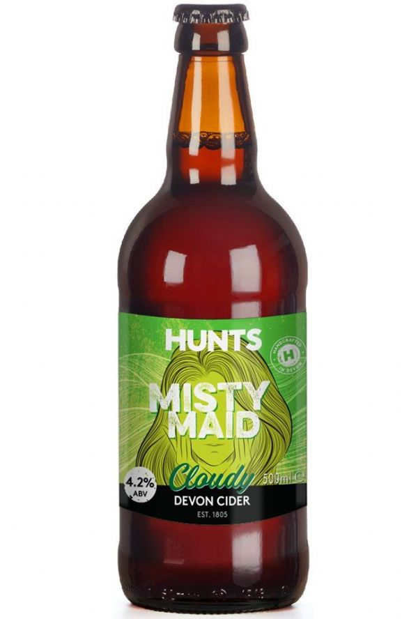 Hunts Misty Maid Cider 4.2% 500ml